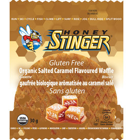 HONEY STINGER HONEY STINGER, GLUTEN FREE ORGANIC, WAFFLE, SALTED CARAMEL