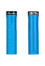 Deity Deity, Knuckleduster, Grips, 132mm, Blue, Pair