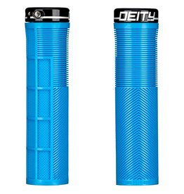 Deity Deity, Knuckleduster, Grips, 132mm, Blue, Pair