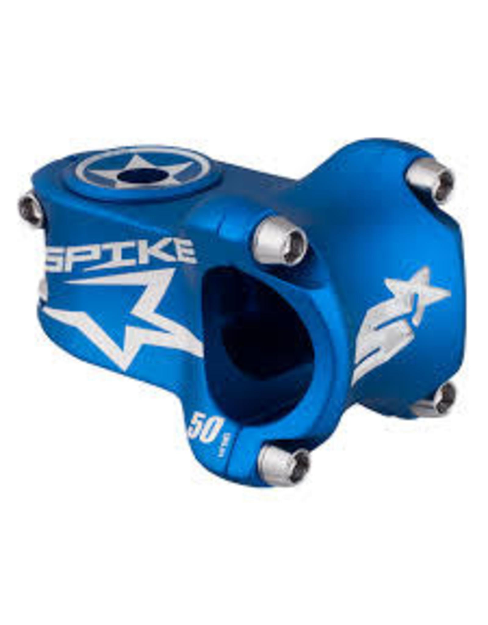 Spank Spank spike race stem 50mm blue