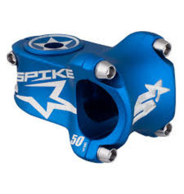 Spank Spank spike race stem 50mm blue