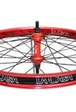 LA CASA La Casa Front Wheel - Double Wall  - Red