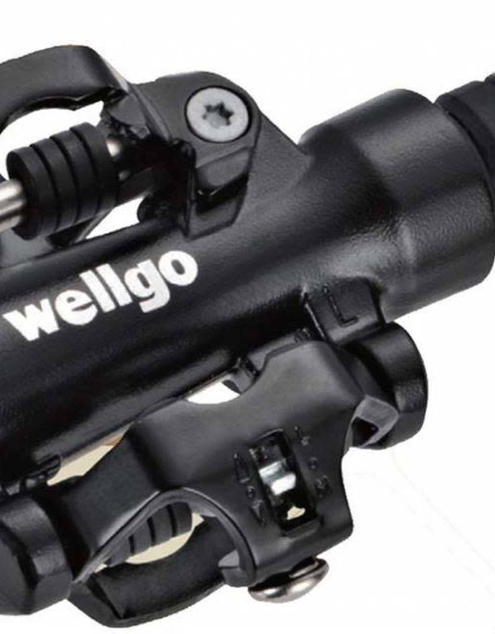 WELLGO WELLGO M094 CLIPLESS PEDAL BLK