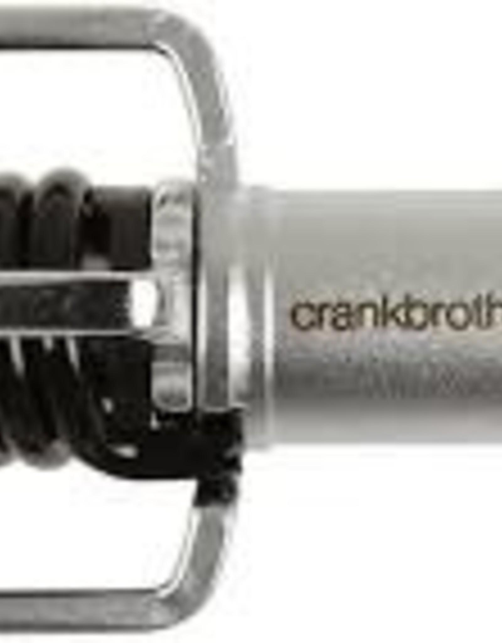 CRANK BROTHERS CRANKBRO EGGBTR 1 PDL BLK SPRN