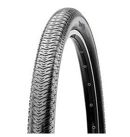 Maxxis Maxxis, DTH, Tire, 20''x1-1/8, Wire, Clincher, Dual, Silkworm, 120TPI, Black