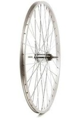 Wheel Shop Wheel Shop, Alex C1000 Silver/ Shimano CB-E110, Wheel, Rear, 26'' / 559, Holes: 36, Bolt-on, 110mm, Coaster, Coaster