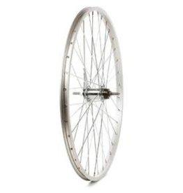 Wheel Shop Wheel Shop, Alex C1000 Silver/ Shimano CB-E110, Wheel, Rear, 26'' / 559, Holes: 36, Bolt-on, 110mm, Coaster, Coaster
