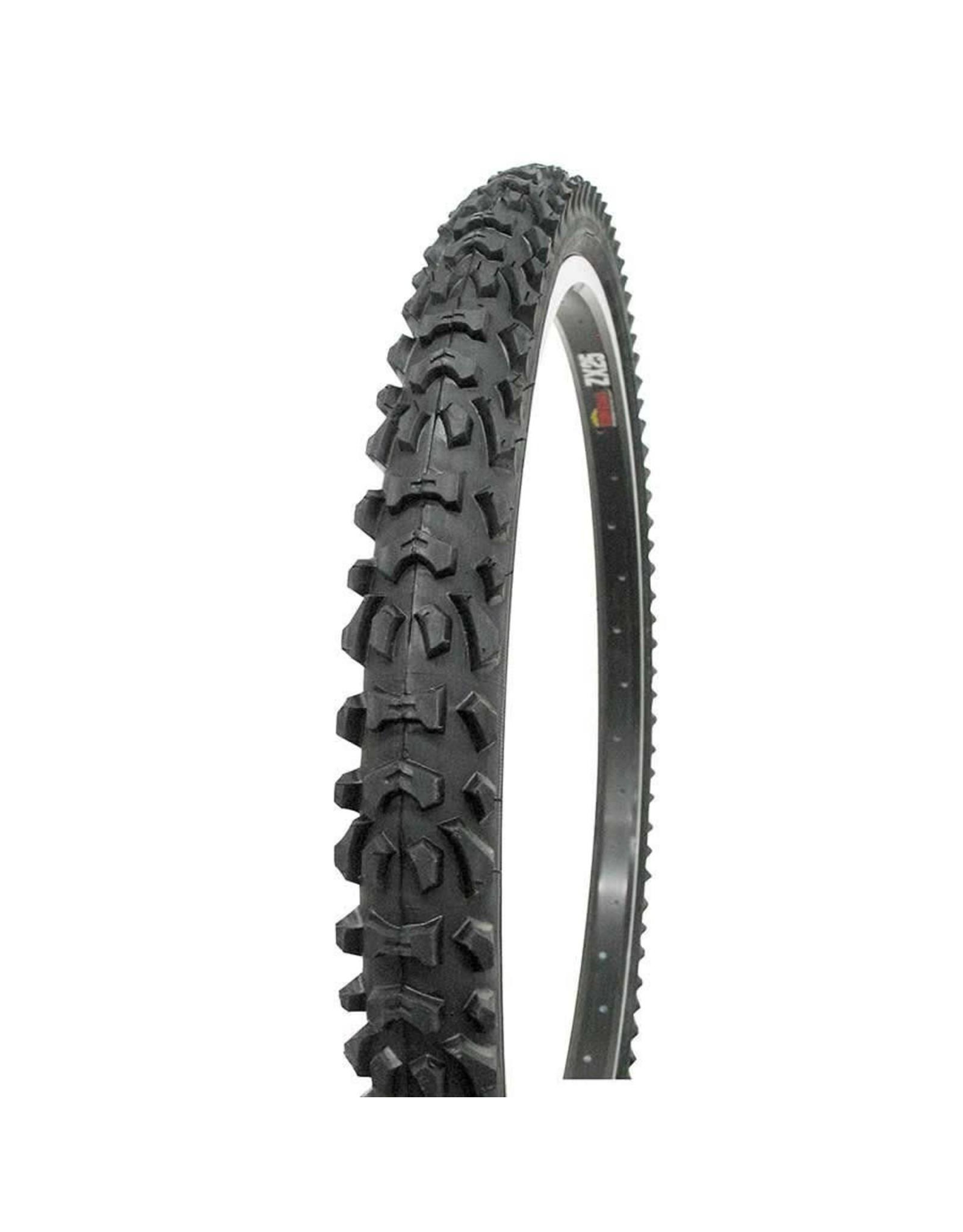 Vee Rubber Vee Rubber, Smoke, Tire, 24''x2.00, Wire, Clincher, Black