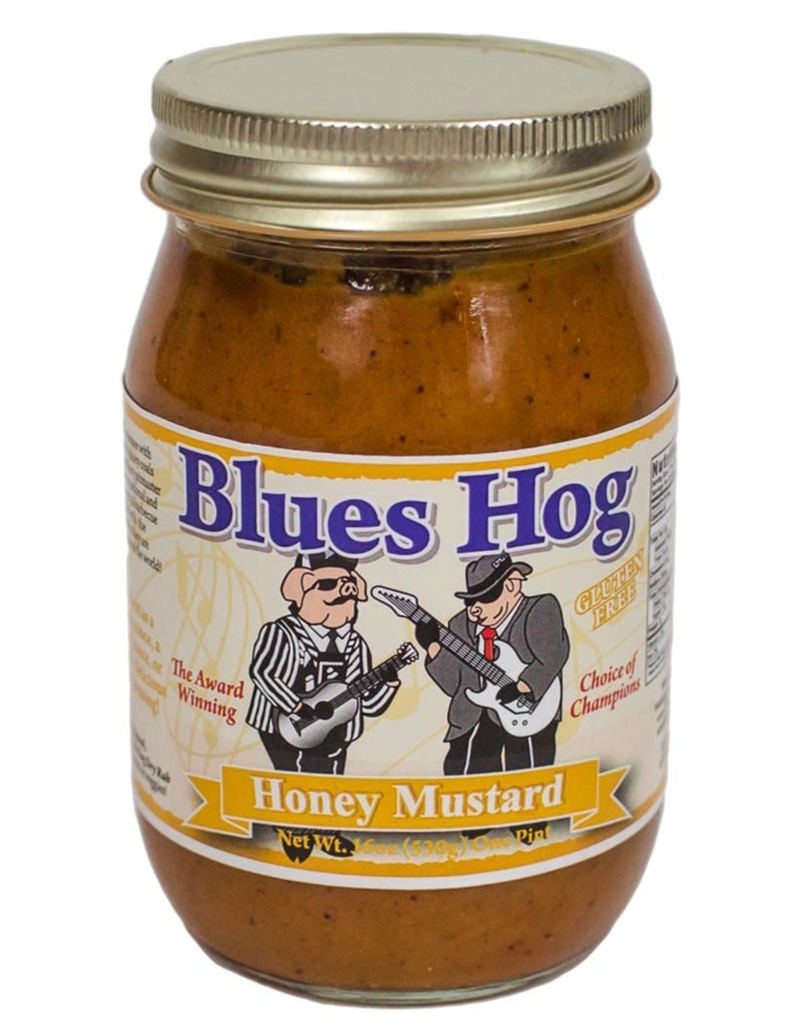 BLUES HOG BLUES HOG HONEY MUSTARD 16 OZ.