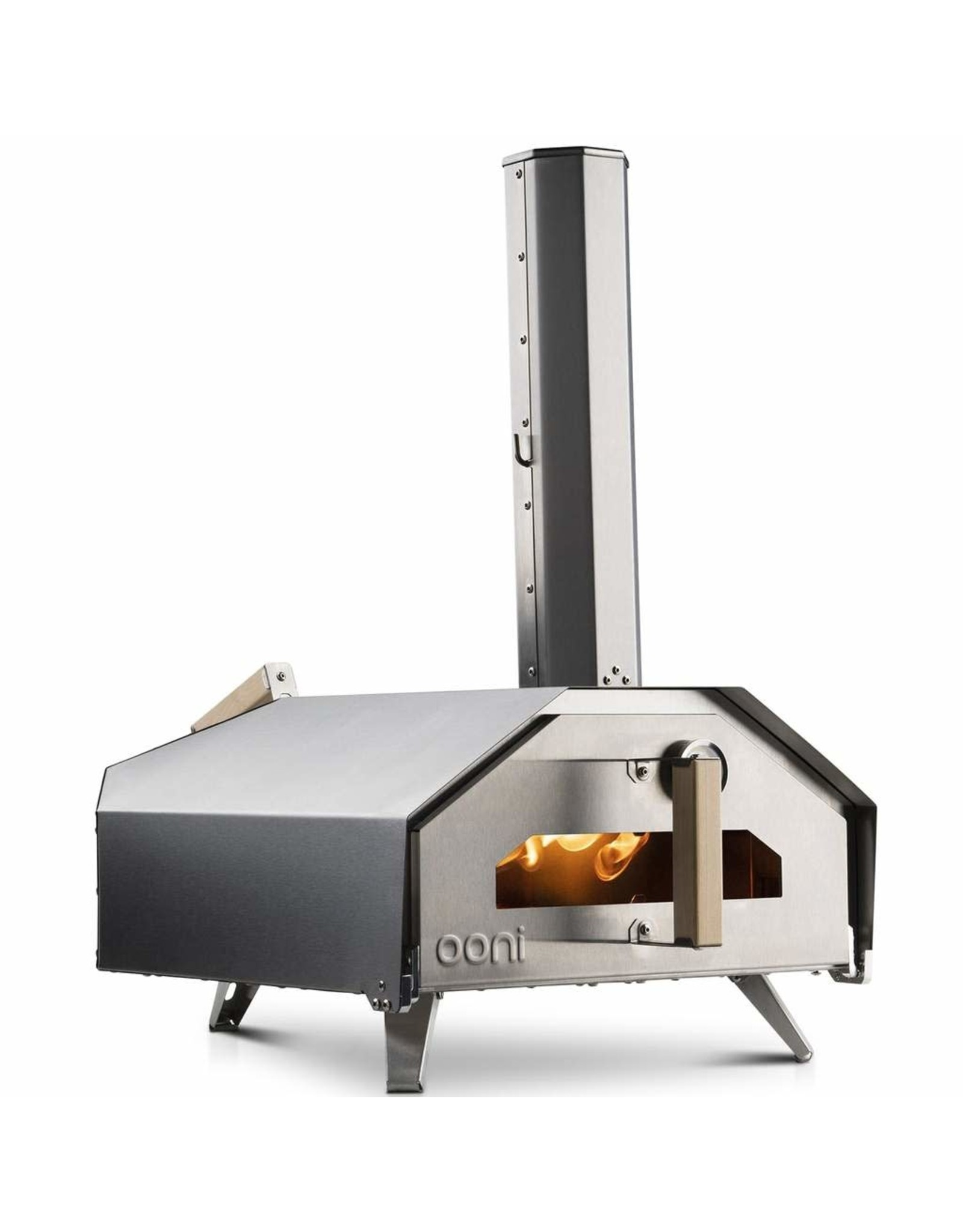 OONI OONI PRO – Multi-fuel fired, wood & charcoal burner is standard