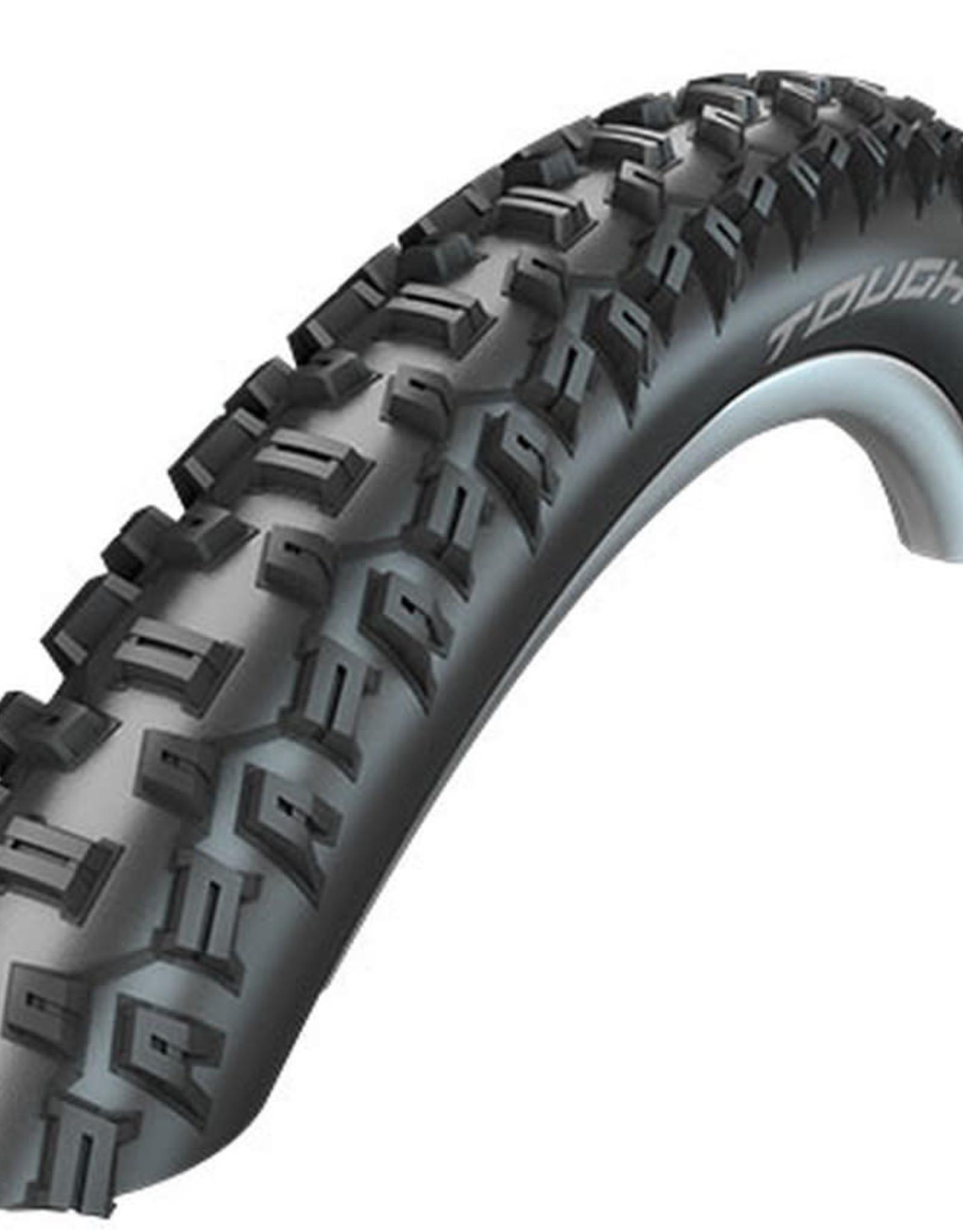 Schwalbe Schwalbe, Tough Tom, Tire, 29''x2.25, Wire, Clincher, SBC, KevlarGuard, 50TPI, Black