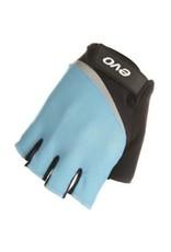 EVO EVO, Palmer Pro Gel, Short Finger Gloves, Women, Black/Teal, M, Pair