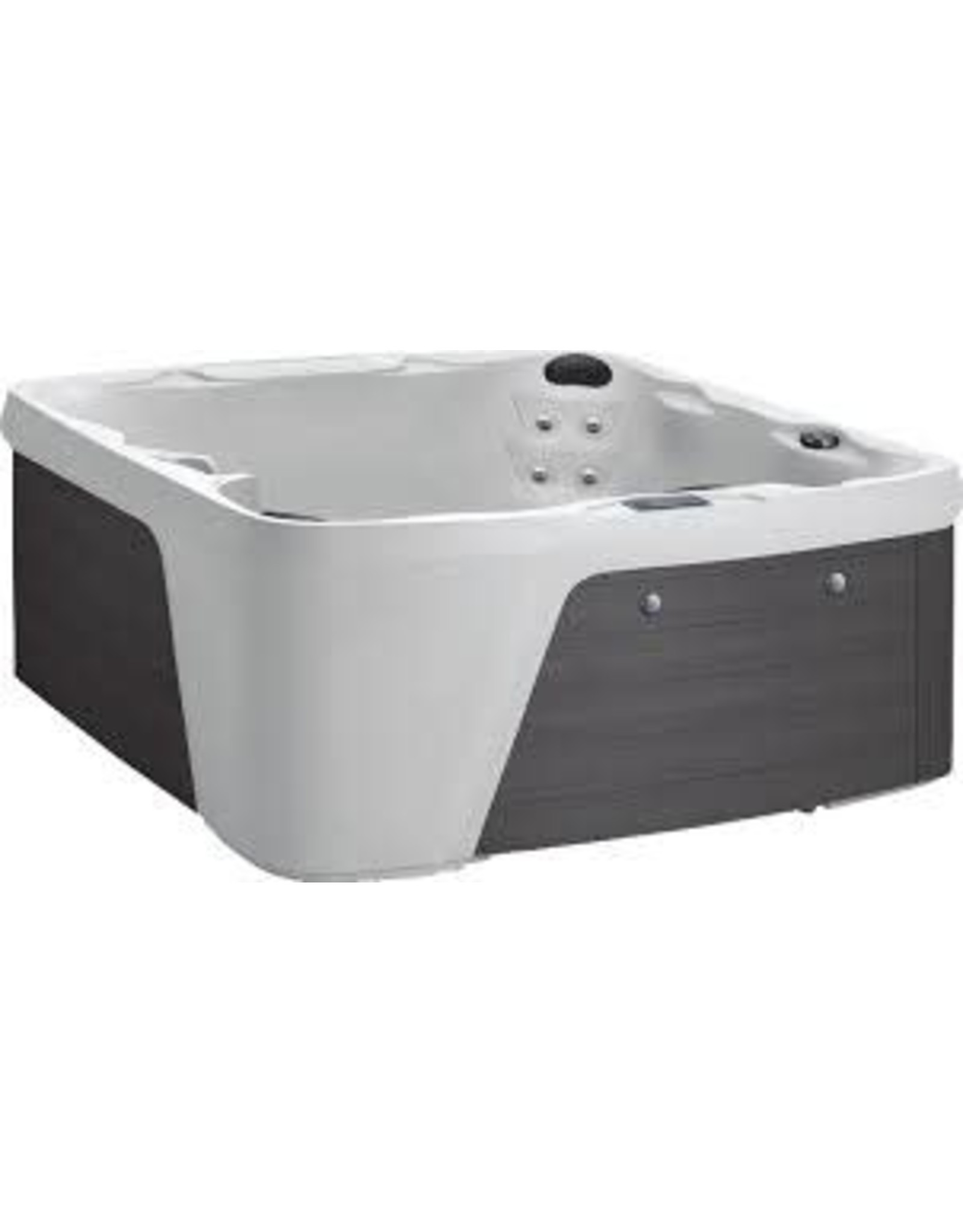 "Freeflow Spas Freeflow Spas ( monterey premium ) 7'3"" X 6'5"" X 34""H ( arctic grey )"