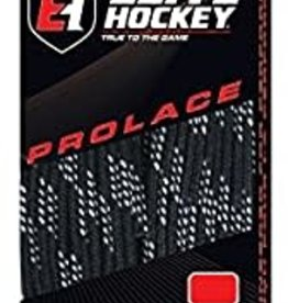 "ELITE HOCKEY ELITE HOCKEY BLACK WAXED MOLDED TIP LACES 96"" (SKATE SIZE: ADULT 5.5 TO  7)"
