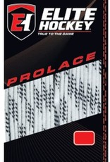 "ELITE HOCKEY ELITE WHITE WAXED  MOLDED TIP LACES (120"")"