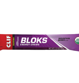 Clif Clif  Blocks energy chews (mountain berry )