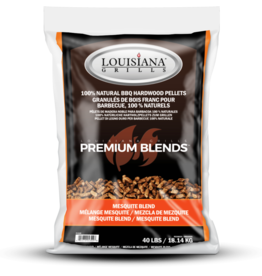 LOUISIANA LOUISIANA - 40 LBS MESQUITE BLEND  - PELLETS