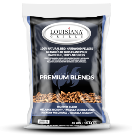 LOUISIANA LOUISIANA - 40 LBS HICKORY BLEND - PELLETS