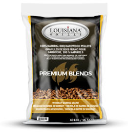 LOUISIANA LOUISIANA - 40 LBS WHISKEY BARREL  BLEND - PELLETS