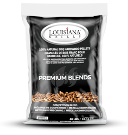 LOUISIANA LOUISIANA - 40 LBS COMPETITION BLEND - PELLETS
