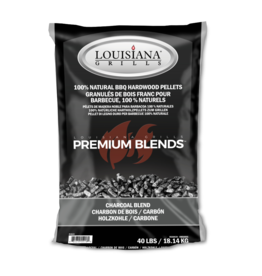 LOUISIANA LOUISIANA - 40 LBS CHARCOAL BLEND - PELLETS