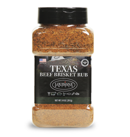 LOUISIANA LOUISIANA SPICES AND RUBS - TEXAS BEEF BRISKET