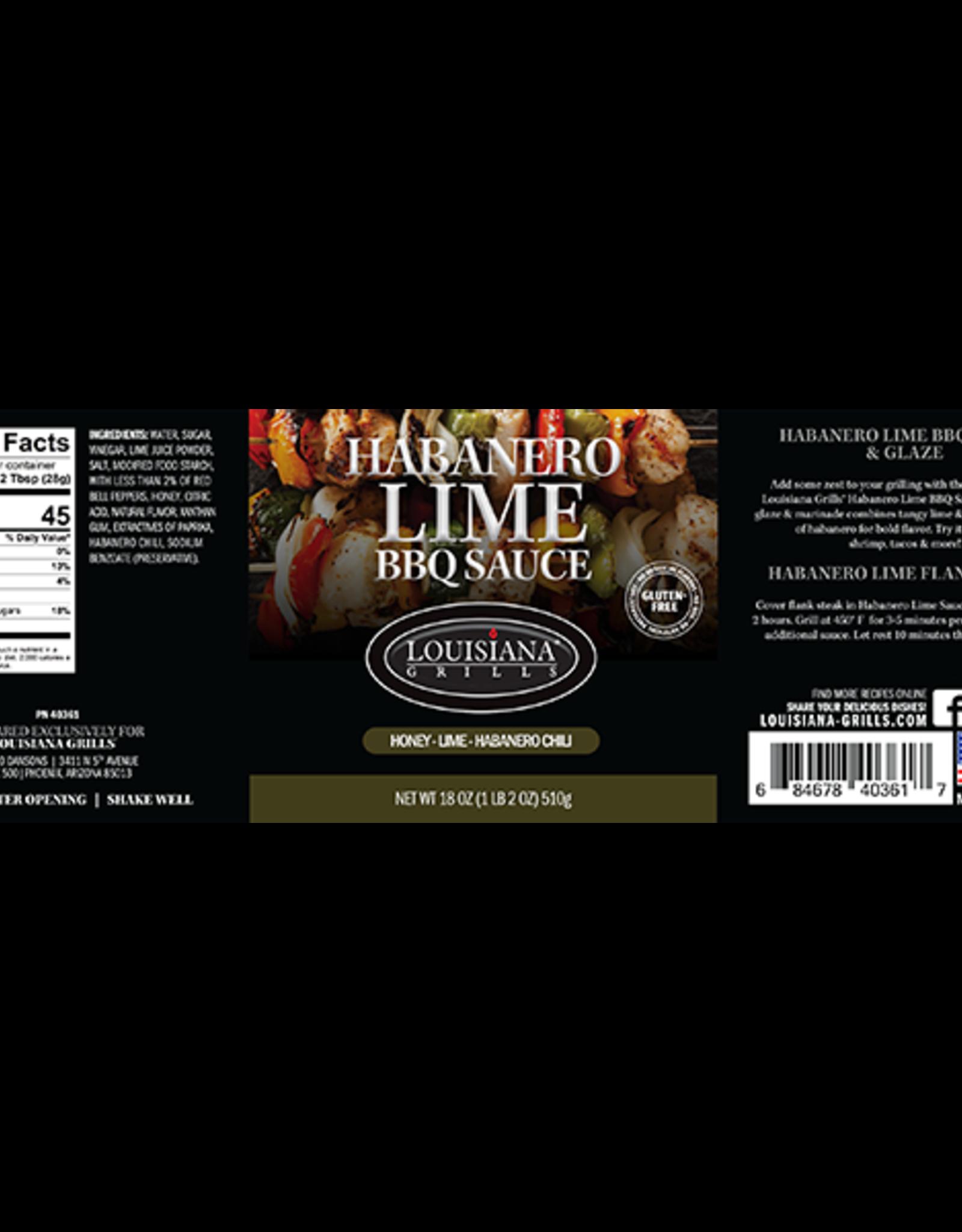 LOUISIANA LOUISIANA BBQ SAUCES AND GLAZES - HABANERO LIME GLAZE
