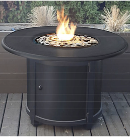 CARBON COLLECTION CARBON COLLECTION - Round Aluminum Fire Table