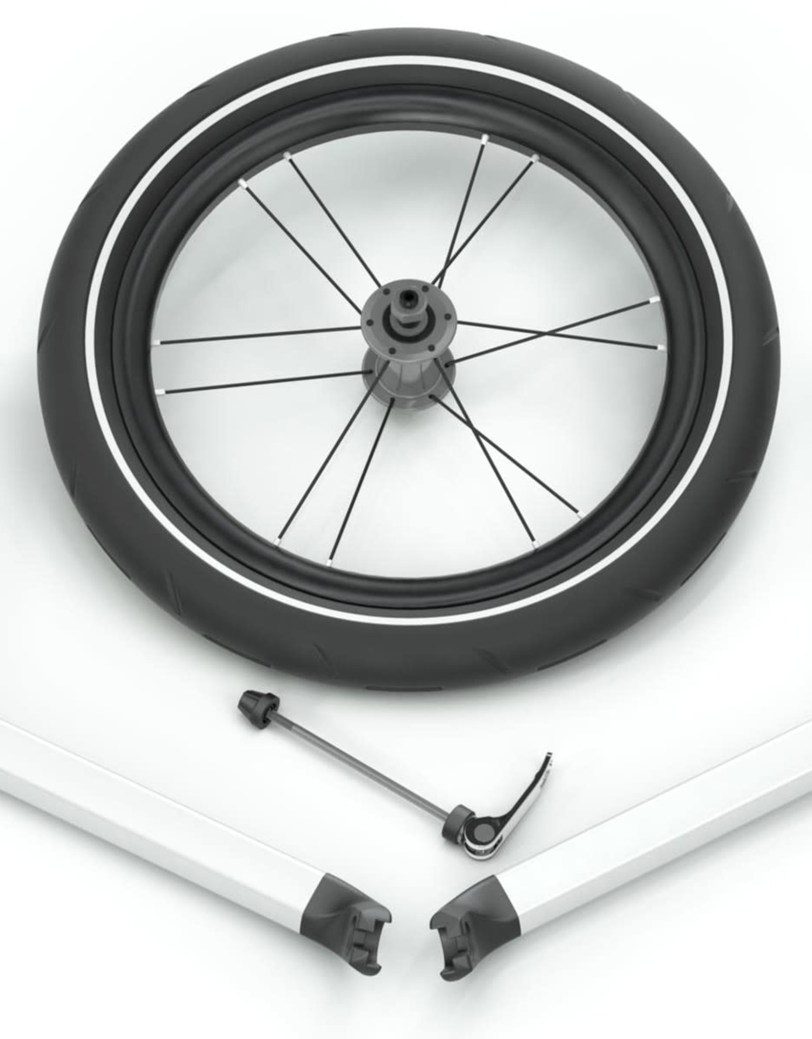 THULE THULE Chariot Jog Kit 2 - Lite/Cross BLACK/SILVER