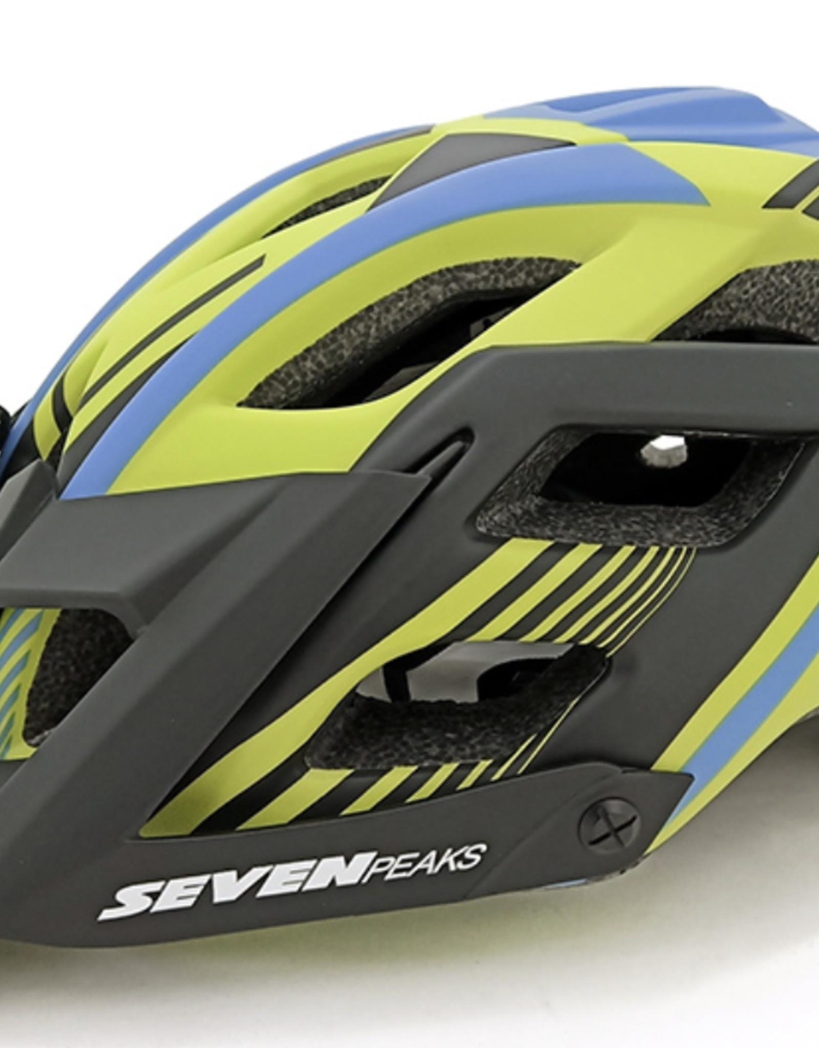 SEVEN PEAKS Seven Peaks - Helmet - Fierce - Green - S/M