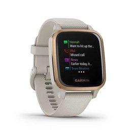 Garmin Garmin, Venu SQ Music, Watch, Watch Color: Sand, Wristband: Sandstone - Silicone, 010-02426-01