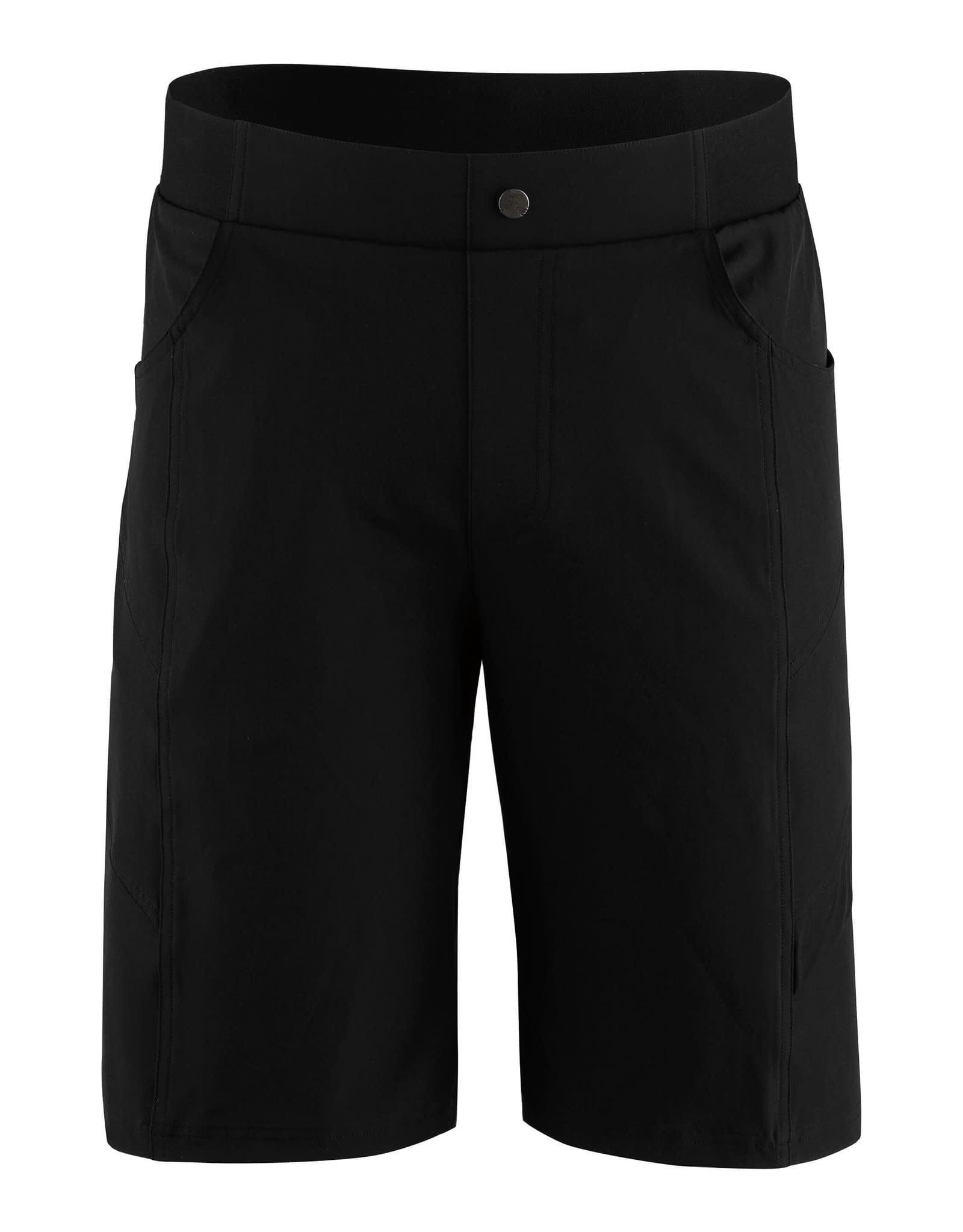 LOUIS GARNEAU LOUIS GARNEAU RANGE 2 SHORTS BLACK XL
