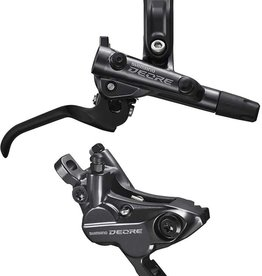 Shimano Shimano, Deore BL-M6100 / BR-M6100, MTB Hydraulic Disc Brake, Rear, Post mount, Disc: Not included, Black