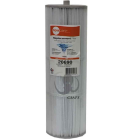 "SPA CARE Marquis Filter (20690)Description: Cartridge Filter  Diameter: 5-3/16""  Length: 16""  Top: Handle  Bottom: 2"" MPT  50 Sq. Ft For Celebrity Elite and V150 models  Manufacturer: Marquis"