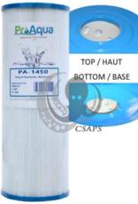 "PRO AQUA ProAqua FILTER ( PA-1450 ) BEACHCOMBER :Description: ProAqua Cartridge Filter  Diameter: 4-15/16""   Length: 13-5/16""  Top: 2-1/8""  Bottom: 2-1/8"""