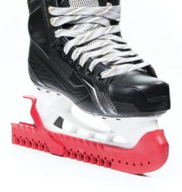 hockey walking skate guards RED
