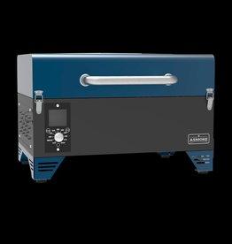 ASMOKE ASMOKE - AS300 PORTABLE PELLET GRILL ( BLUE )