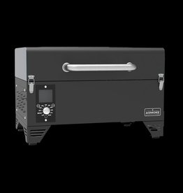 ASMOKE ASMOKE - AS300 PORTABLE PELLET GRILL ( BLACK )