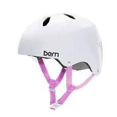 Bern Bern, Diabla, Helmet, Satin White, M, 55.5 - 57cm