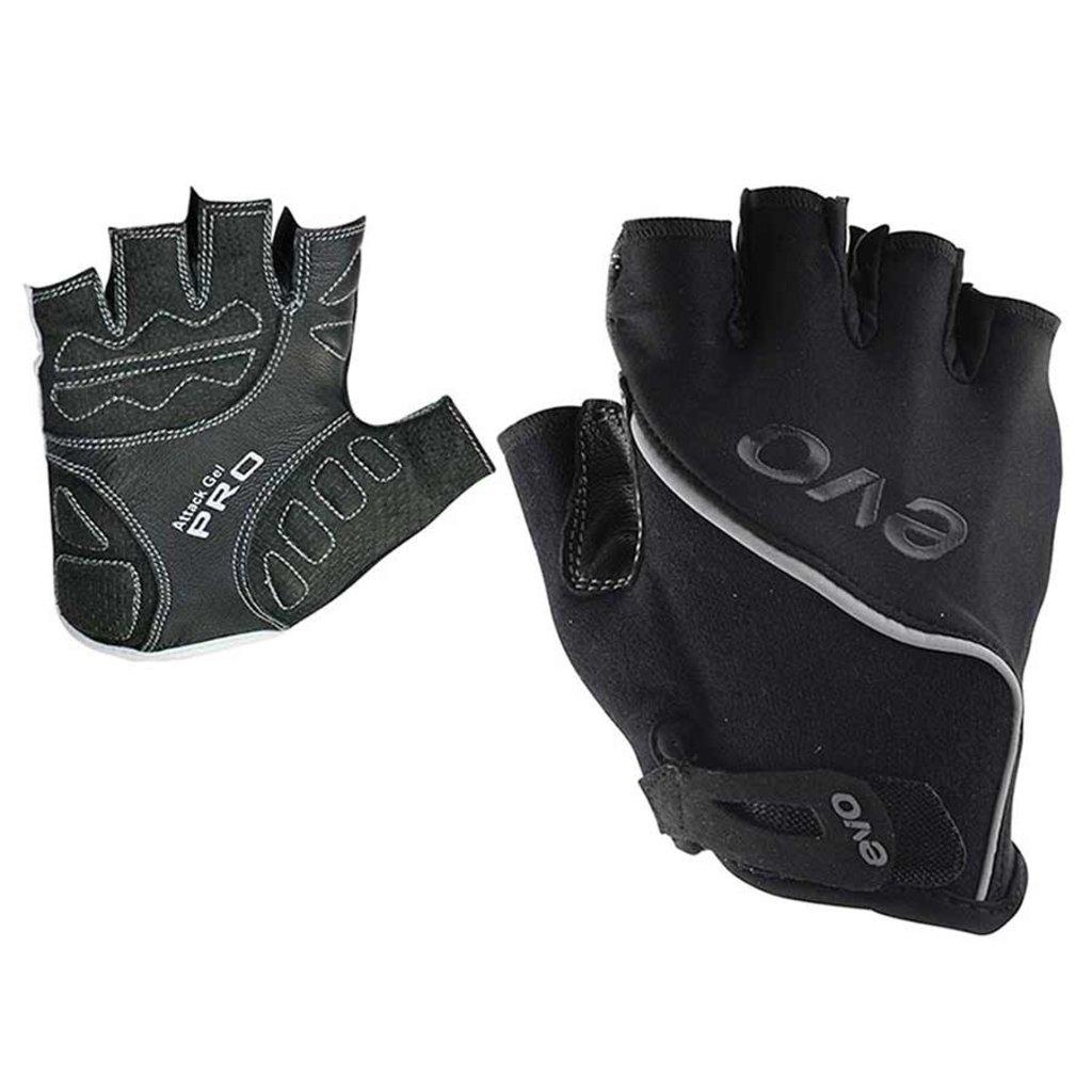 EVO EVO, Attack Gel Pro, Gloves, Black, M