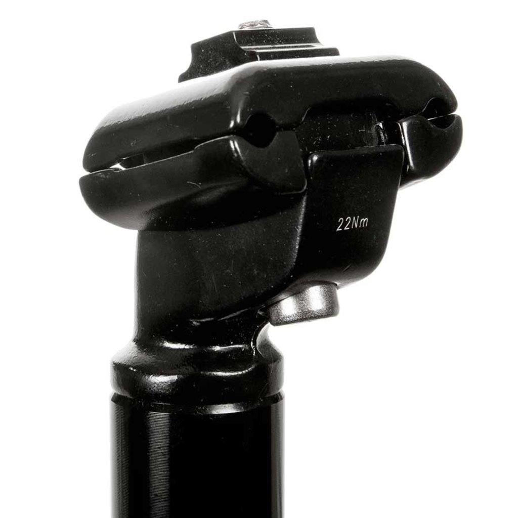 EVO EVO, E-Force AL, Seatpost, Black, 400 X 27.2mm