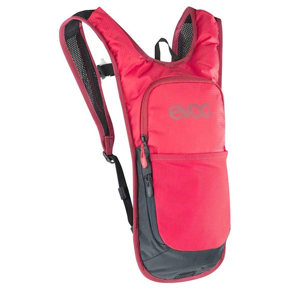 EVOC EVOC, CC 2L + 2L Bladder, Hydration Bag, Volume: 2L, Bladder: Included (2L), Red