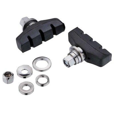 Jagwire Basics X-Age, Cantilever brake pads (Black)