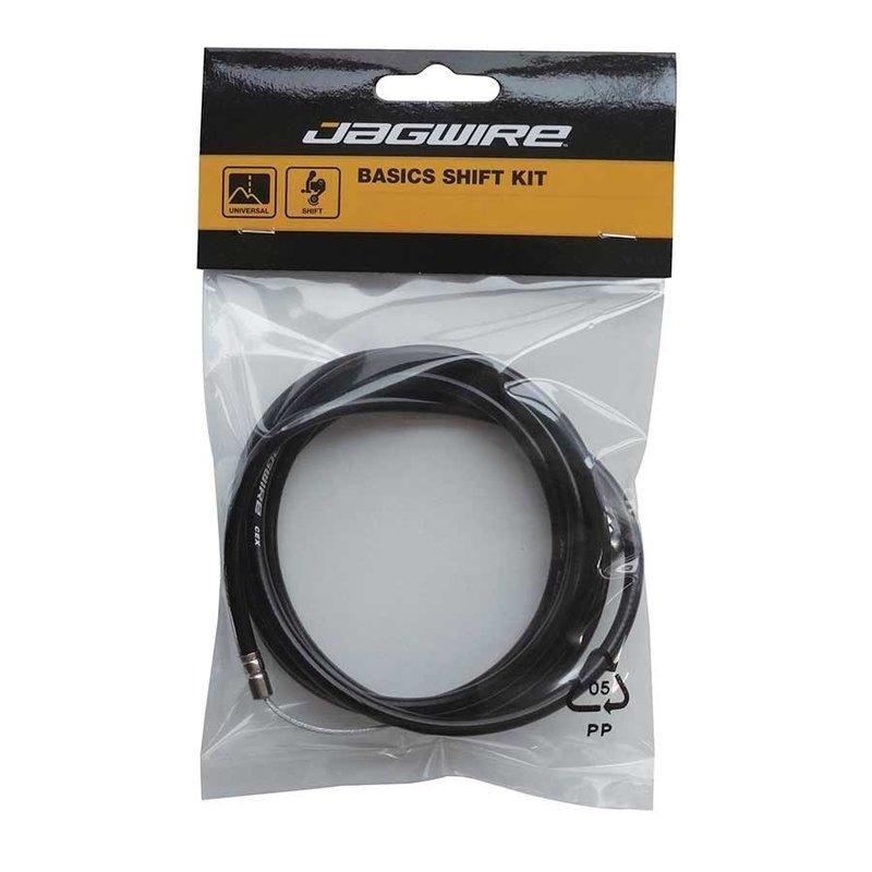 Jagwire Basics, Derailleur cable & housing (Black)