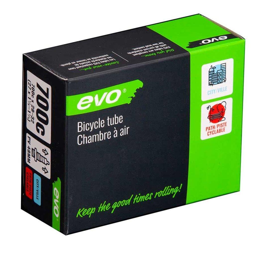 EVO EVO, Presta, Tube, Length: 60mm, 700C, 28-32C