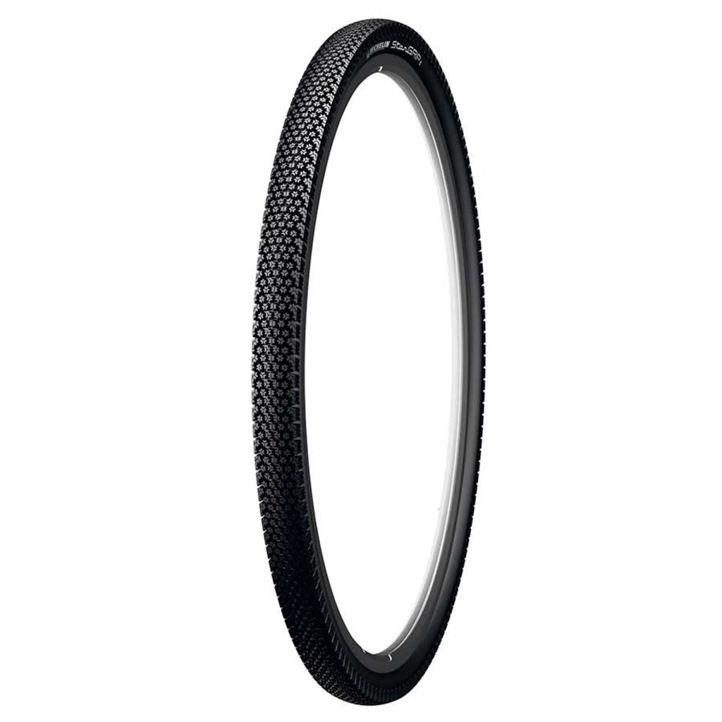 Michelin Michelin, Stargrip, Tire, 700x40C, Wire, Clincher, Winter, Nylon HD, 22TPI, Black