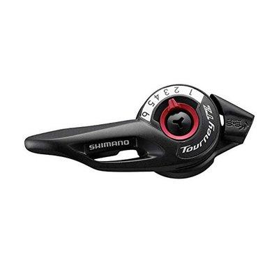 Shimano Shimano, SL-TZ500, Thumb Shifter, Speed: 6, Black