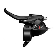Shimano Shimano, ST-EF41, Shift/Brake lever combo, 3X6sp., Black