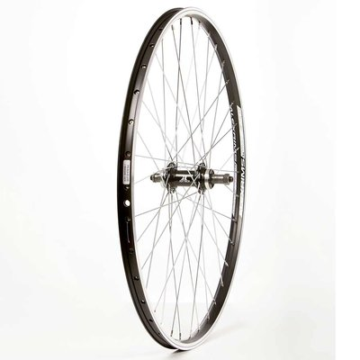 Wheel Shop Wheel Shop, Alex Ace17 Black/ Joytech D242DSE, Wheel, Rear, 26'' / 559, Holes: 36, QR, 135mm, Rim and Disc IS 6-bolt, Freewheel