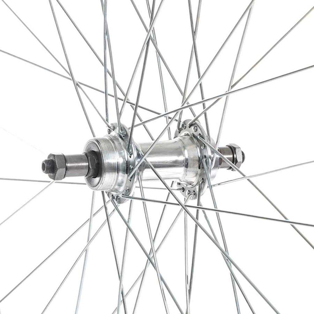 Wheel Shop Wheel Shop, Alex C303 Silver/ Formula FM-31-QR, Wheel, Rear, 27'' / 630, Holes: 36, QR, 135mm, Rim, Freewheel